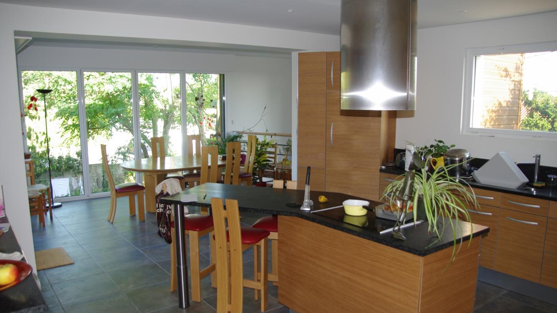 N lumbia architecture extension et terrasse architecte sur nantes - Agrandissement cuisine sur terrasse ...
